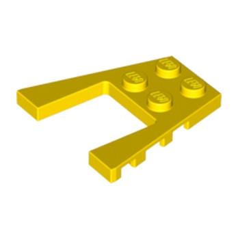 LEGO 4179091 PLATE 4X4 W/ANGLE - JAUNE