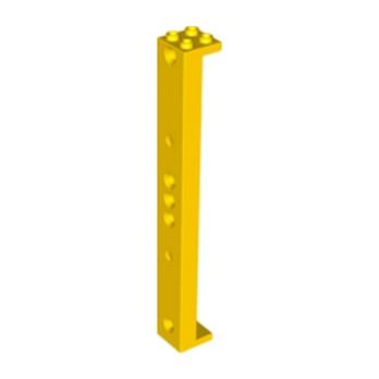 LEGO 6072694 - SUPPORT 2X2X16 W. Ø4.85 - JAUNE