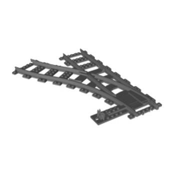 LEGO 6085213 SWITCH LEFT - DARK STONE GREY