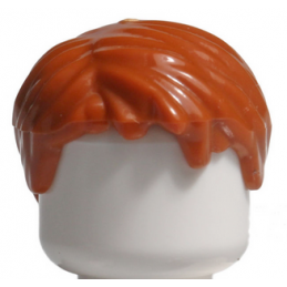 LEGO 4529755 CHEVEUX HOMME - DARK ORANGE