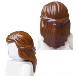 LEGO 4506003 - CHEVEUX LONG - REDDISH BROWN