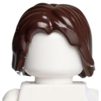 LEGO 4568934 - CHEVEUX HOMME - DARK BROWN