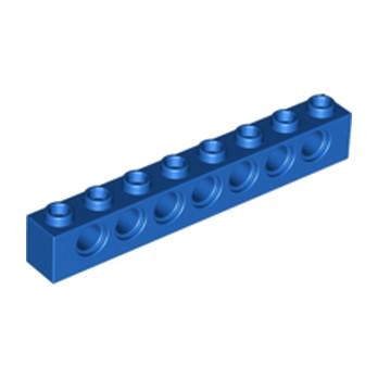 LEGO 370223  TECHNIC BRIQUE 1X8 - BLEU