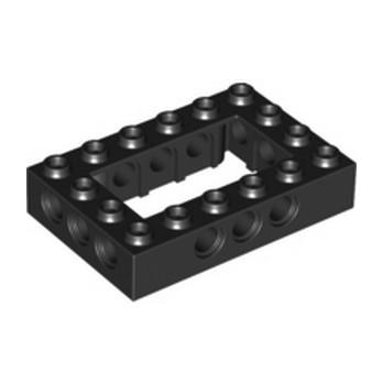 LEGO 4144025 4X6 BRIQUE , Ø 4,85 - NOIR