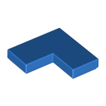 LEGO 6129747 - PLATE LISSE ANGLE 1X2X2 - BLEU