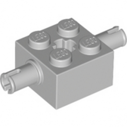 LEGO 4211752  BEARING ELEMENT 2X2 W.D. SNAP - MEDIUM STONE GREY