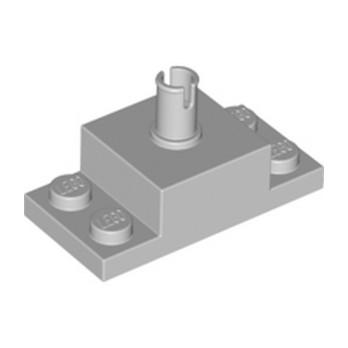 LEGO 4211666 PLATE 2X4/2X2X1 W. VERTICAL SN - MEDIUM STONE GREY