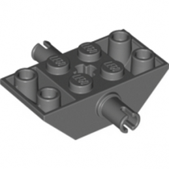 LEGO 6069014 BEAR.ELEM. INV. ROOR TILE 45° - DARK STONE GREY
