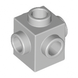 LEGO 4211511 - BRIQUE 1X1 W. 4 KNOBS - MEDIUM STONE GREY