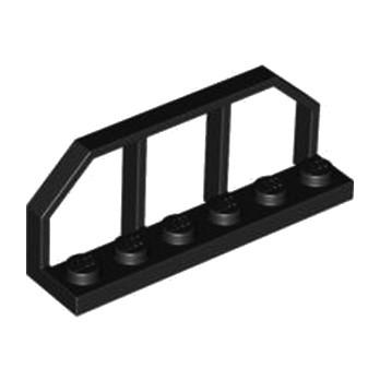 LEGO 658326 - BARRIERE 1.5X6X2  - NOIR lego-6271649-barriere-15x6x2-noir ici :