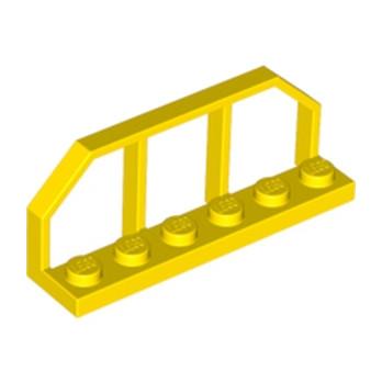 LEGO 4251468 - BARRIERE 1.5X6X2 - JAUNE