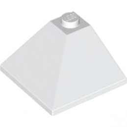LEGO 367501 CORNER OUTSIDE 3X3/25° - BLANC