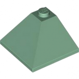 LEGO 4598532 CORNER OUTSIDE 3X3/25° - SAND GREEN