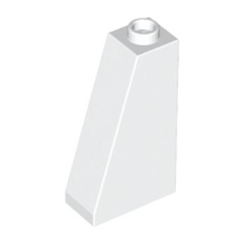 LEGO 446001 TUILE 1X2X3/73° - BLANC lego-446001-tuile-1x2x373-blanc ici :
