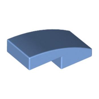 LEGO 6301857 PLATE W. BOW 1X2X2/3 - MEDIUM BLUE lego-6301857-plate-w-bow-1x2x23-medium-blue ici :