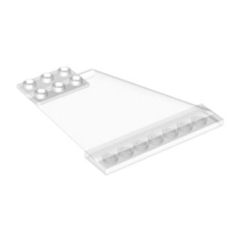 LEGO 6097549 - DERIVE / GOUVERNAIL  2X12X5 - TRANSPARENT
