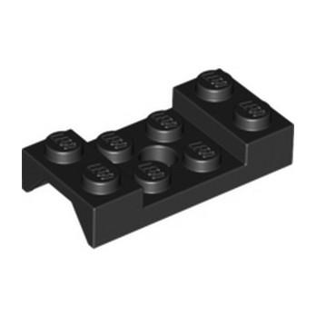 LEGO 4518608  MUDGUARD 2X4 w. HOLE Ø4.9 - NOIR