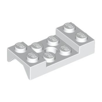 LEGO 4520807  MUDGUARD 2X4 w. HOLE Ø4.9 - BLANC