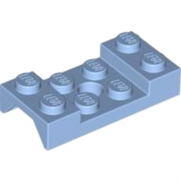 LEGO 4616698  MUDGUARD 2X4 W.HOLE Ø4.9 - MEDIUM BLUE