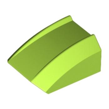 LEGO 6129278 FRONT, 2X2, SPORT - BRIHT YELLOWISH GREEN