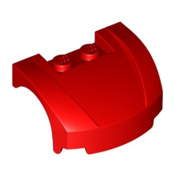 LEGO 6031520 CAPOT 3X4X1 2/3 - ROUGE