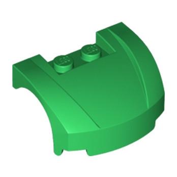LEGO 6072605 CAPOT 3X4X1 2/3 - DARK GREEN