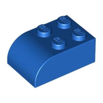 LEGO 621523  BRIQUE 2X3 DOME - BLEU