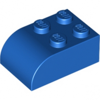 LEGO 621523  BRIQUE 2X3 DOME - BLEU lego-621523-brique-2x3-dome-bleu ici :