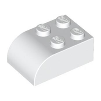 LEGO 621501 BRIQUE 2X3 DOME - BLANC