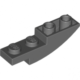 LEGO 6177704 BRIQUE 1X4X1 INV - DARK STONE GREY