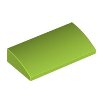 LEGO 6075049 BRIQUE DOME 2x4x2/3 - BRIGHT YELLOWISH GREEN lego-6075049-brique-dome-2x4x23-bright-yellowish-green ici :