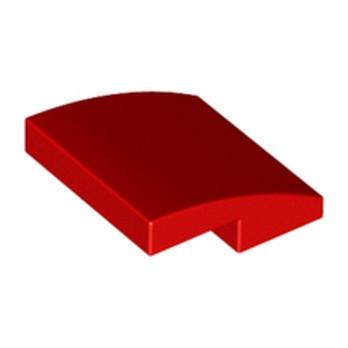 LEGO 6105976 BRIQUE DOME 2X2X2/3 - ROUGE