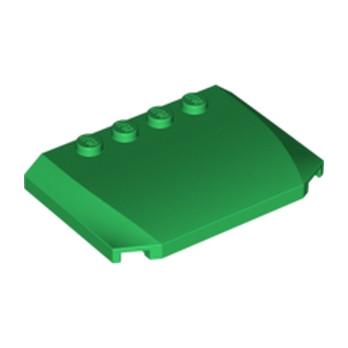 LEGO 4503291 CAPOT 4X6X2/3 - DARK GREEN