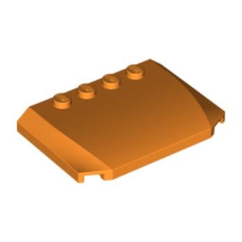 LEGO 4505118 CAPOT 4X6X2/3 - ORANGE