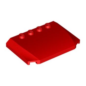 LEGO 4259903 CAPOT 4X6X2/3 - ROUGE
