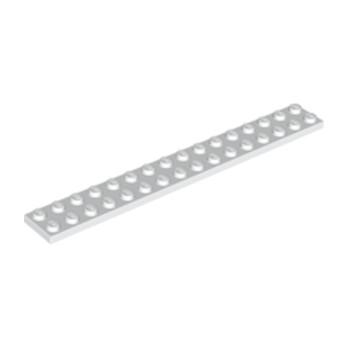 LEGO 4119227 PLATE 2X16 - WHITE