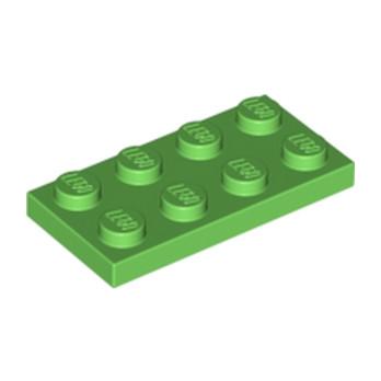 LEGO 6141590 PLATE 2X4 - BRIGHT GREEN lego-6141590-plate-2x4-bright-green ici :