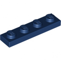 LEGO 4177739  PLATE 1X4 - EARTH BLUE