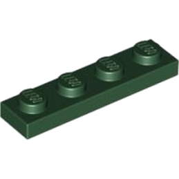 LEGO 4245568  PLATE 1X4 - EARTH GREEN
