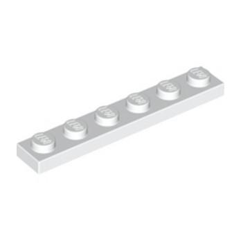 LEGO 366601 PLATE 1X6 - WHITE