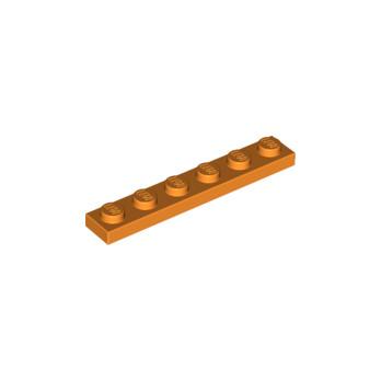 LEGO 3666106 PLATE 1X6 - ORANGE lego-4173332-plate-1x6-orange ici :