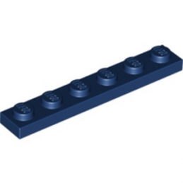 LEGO 4177734  PLATE 1X6 - EARTH BLUE lego-4508313-plate-1x6-earth-blue ici :