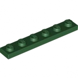 LEGO 4245566 PLATE 1X6 - EARTH GREEN