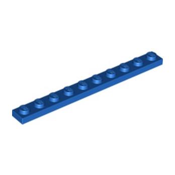 LEGO 447723 PLATE 1X10 - BLEU