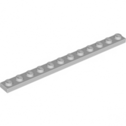 LEGO 4514846 PLATE 1X12 - MEDIUM STONE GREY