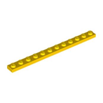 LEGO 4514844 PLATE 1X12 - YELLOW
