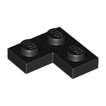 LEGO 242026  PLATE ANGLE 1X2X2 - NOIR