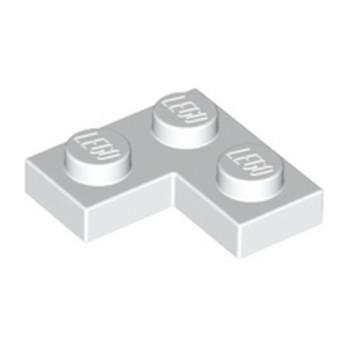 LEGO 242001 PLATE ANGLE 1X2X2 - BLANC