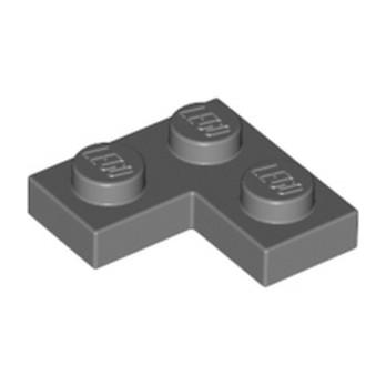 LEGO 4210635 PLATE ANGLE 1X2X2 - DARK STONE GREY