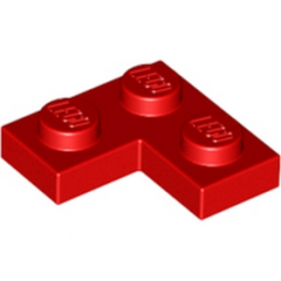 LEGO 242021 PLATE ANGLE 1X2X2 - ROUGE
